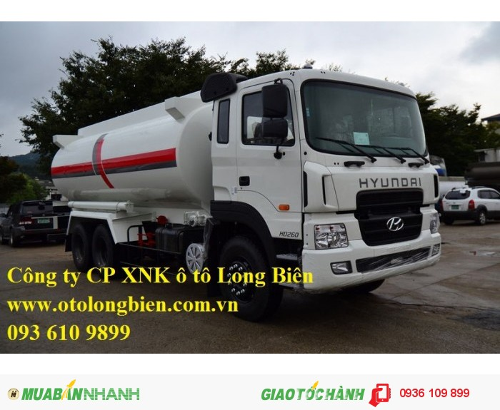 Xe bồn chở xăng dầu 6m3, 11-12m3 3