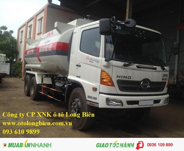 Xe bồn chở xăng dầu 6m3, 11-12m3
