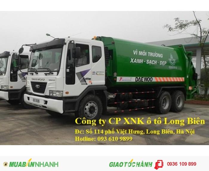 Xe ép rác, xe ép rác chuyên dụng, xe ép rác hino chở rác 6m3, 8-9m3, 12-14m3, 18, 20-22m3 tại Hà Nội 2016, 2017 0