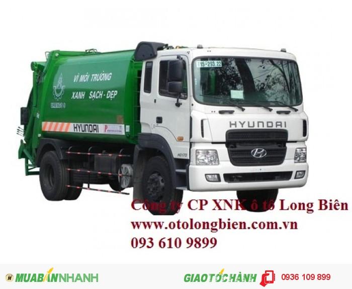 Xe ép rác, xe ép rác chuyên dụng, xe ép rác hino chở rác 6m3, 8-9m3, 12-14m3, 18, 20-22m3 tại Hà Nội 2016, 2017 3