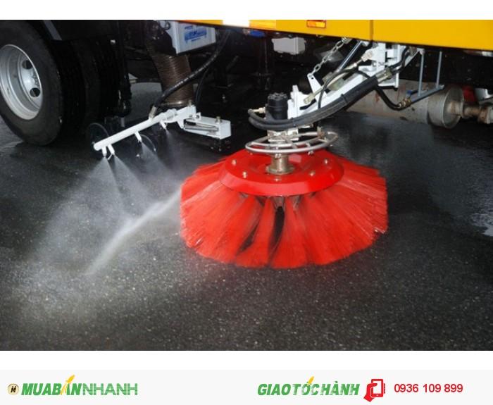 Xe quét đường hút bụi, Isuzu, hyundai, Daewoo, Fuso, Dongfeng 4, 5-6m3 tại Hà Nội 2016, 2017