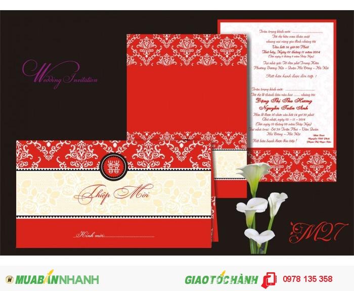 Xưởng in thiệp cưới chuyên nghiệp tại Hà Nội