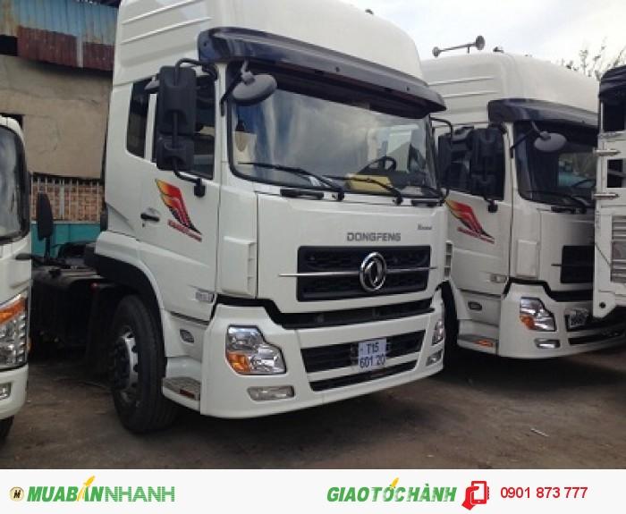 Chuyên bán đầu kéo Dongfeng Hoàng Huy L375 3 chân nhập khẩu/Đầu kéo Dongfeng 3 chân (3 giò) máy Cummins nhập khẩu 3
