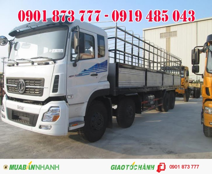 Giá xe tải Dongfeng Trường Giang 4 chân 17.9 tấn 18.7 tấn 19 tấn.
