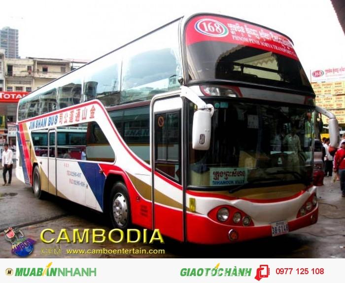 Xe buýt đêm đi Campuchia