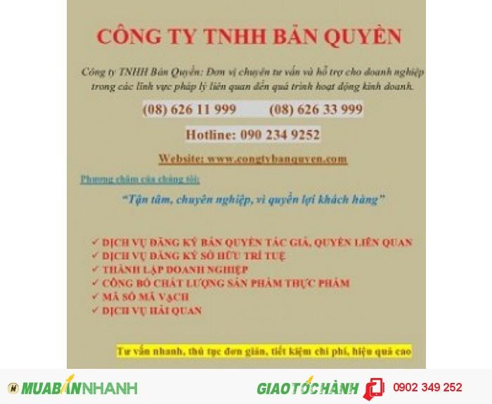 Đăng ký bản quyền tác giả tại Việt Nam