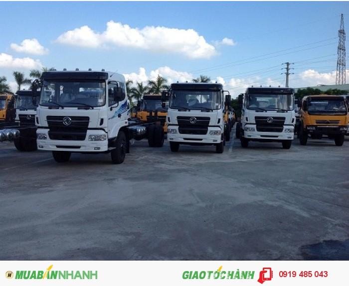 Đại lý xe tải Dongfeng Trường Giang 4 chân 2 cầu 2 zí uy tín, trả góp lãi suất thấp nhất 2