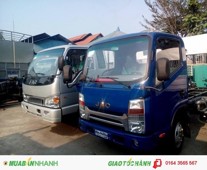 Bán xe tải JAC 2.4 tấn - bán xe tải trả góp 0