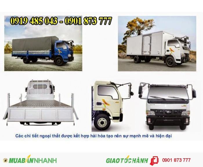 Xe tải Veam 4,9 tấn 5 tấn VT490