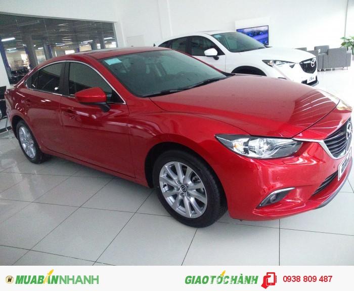 Mazda 6 màu đỏ tặng Bào hiểm Vật chất, ưu đãi lớn