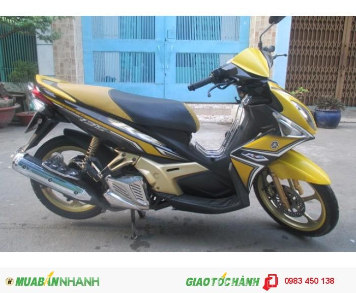Xe Yamaha Nouvo 4 RC màu vàng trắng đen 0