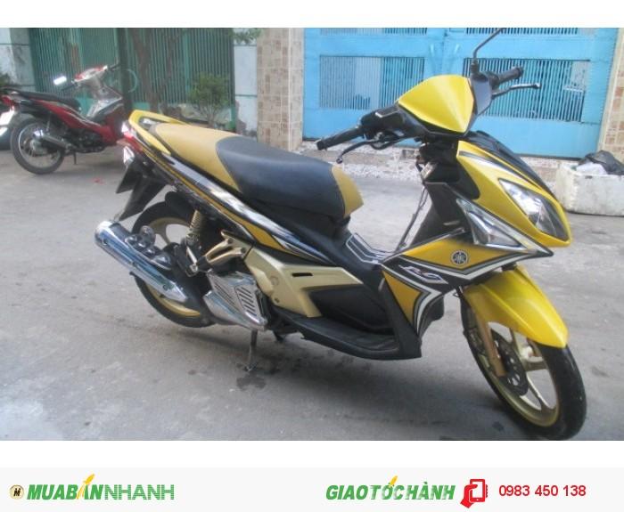 Xe Yamaha Nouvo 4 RC màu vàng trắng đen 1