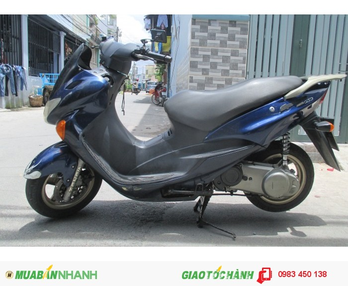 Xe Suzuki Epicuro 150cc màu xanh biển số thành phố 0