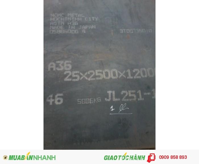 [1] Báo giá Thép đóng tàu, thép tấm A36 12 x 2000 x 12000 mm