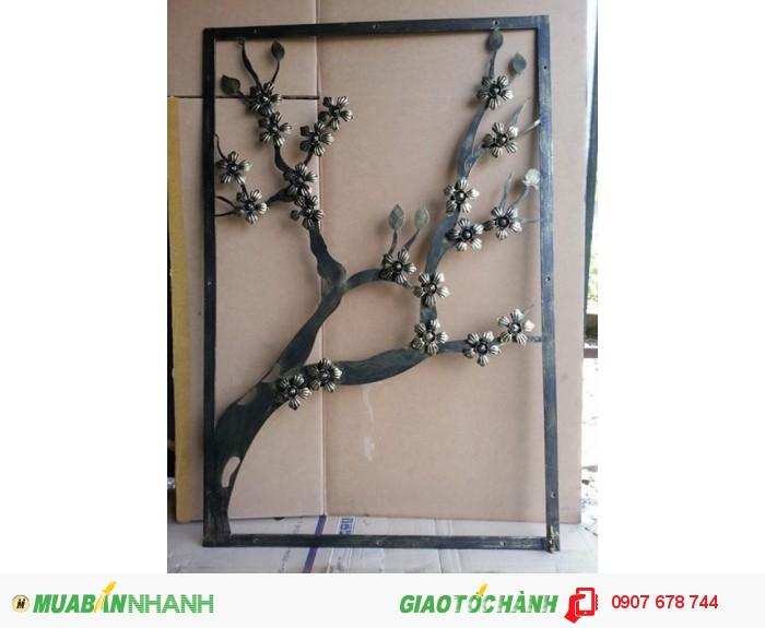 Khung hoa văn  trang trí ốp tường nghệ thuật cắt CNC2