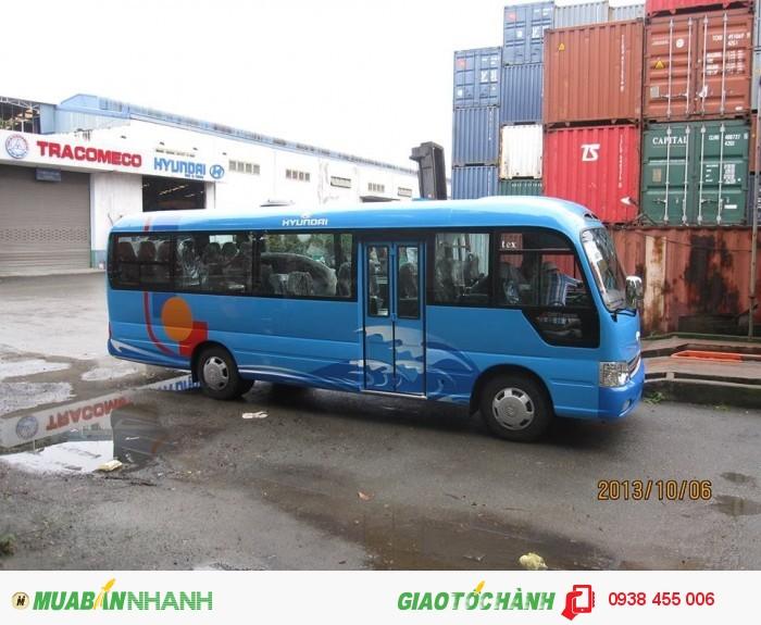 Hyundai County 29 chỗ 3 cục, đởi 2015, Newhome 42 giường, 47 ghế nhập khẩu