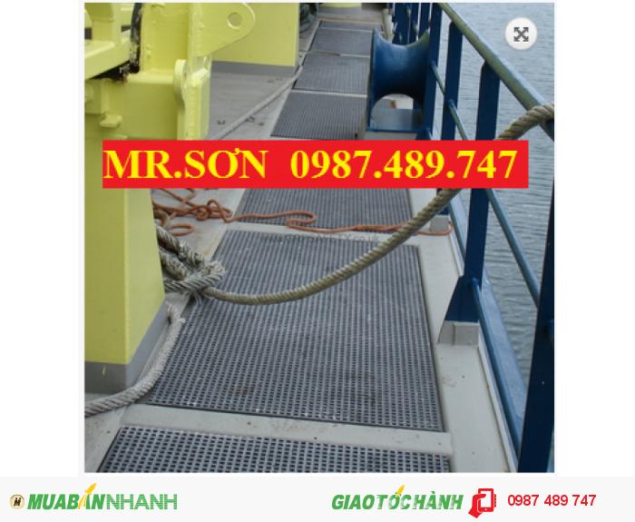 Tấm sàn cho lối mương thoát nước, sàn lưới không rỉ sét, tấm sàn kháng hóa chất2