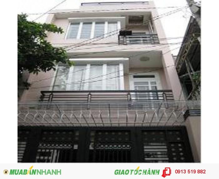 Bán nhà mặt tiền Điện Biên Phủ giáp q3, 5.5x17, 3 lầu, giá: 17 tỷ