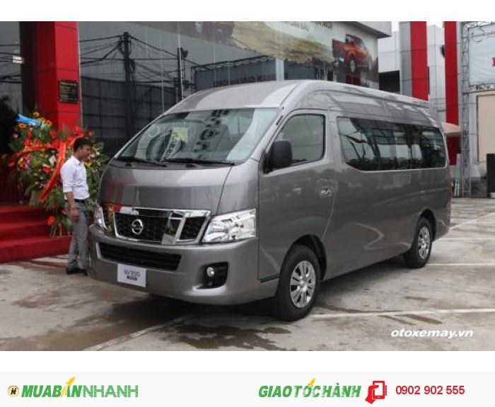 Xe 16 chỗ Nissan NV350 Urvan Nhập khẩu Nhật Bản Chính hãng khuyến mại