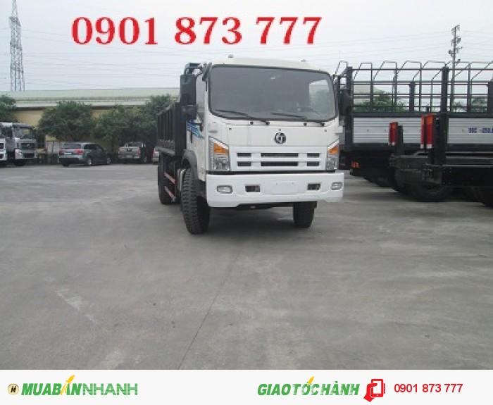 Mua xe ben Dongfeng Trường Giang 7.8 tấn 2 cầu thật, Giá xe ben Dongfeng 9.2 tấn, Mua xe ben Dongfeng 14 tấn 3 chân 2 cầu thật 11 khối trả góp