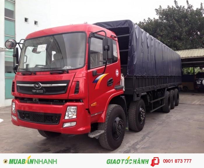 Xe tải TMT Cửu Long 5 chân 22.5 tấn, Giá bán xe tải Cửu Long 22.5 tấn 5 chân 10x4, Xe tải thùng 5 chân 22.5 tấn giá rẻ nhất miền Nam