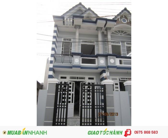Nhà phố Rẻ nhất Sài Gòn: Nhà Hóc Môn mới 488tr/căn, SHR
