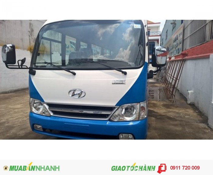 Hyundai County sản xuất năm 2017 Số tay (số sàn) Dầu diesel