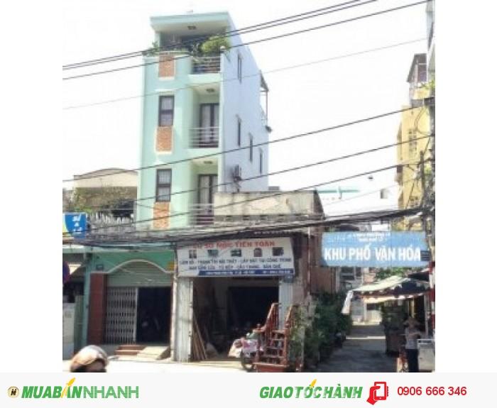 Nhà mặt tiền Gò Vấp, đường Phan Văn Trị