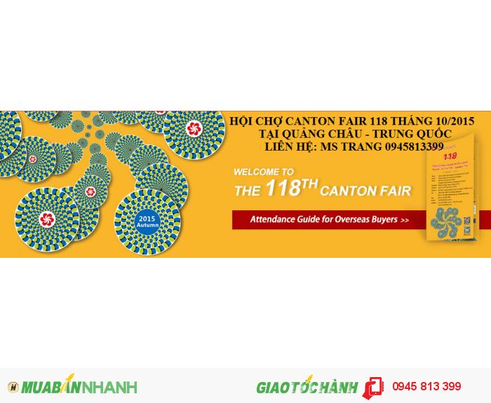 Hội chợ Canton Fair 118 tại Quảng châu