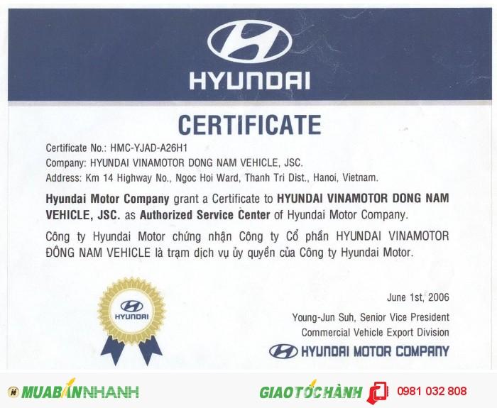 Hyundai HD360 sản xuất năm 2015 Số tự động Xe tải động cơ Dầu diesel