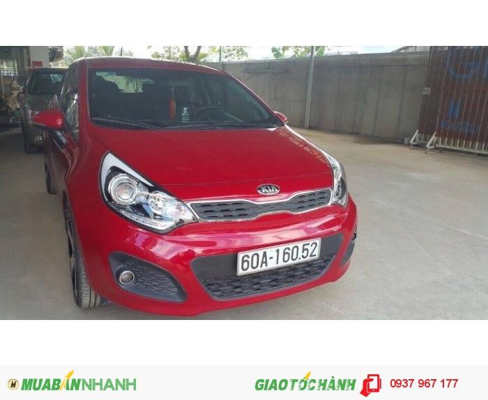 Kia Rio sx 2014 màu đỏ, full option, xe đẹp