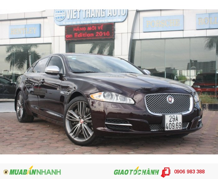Xe Jaguar XJ series XJL 5.0 supercharge 2011