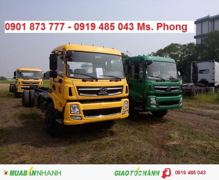 Thông số kỹ thuật xe tải Dongfeng Trường Giang 6.9 tấn, Dongfeng 6T9 Trường giang, Mua xe tải Dongfeng 6,9 tấn