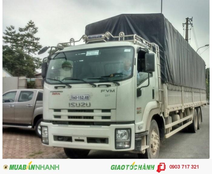 Bán xe tải Isuzu 15T4. Bán xe tải Isuzu FVM34T mui bạt