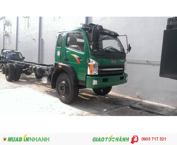 Bán xe tải Cửu Long tmt 8 tấn thùng bạt dài 9m3 0