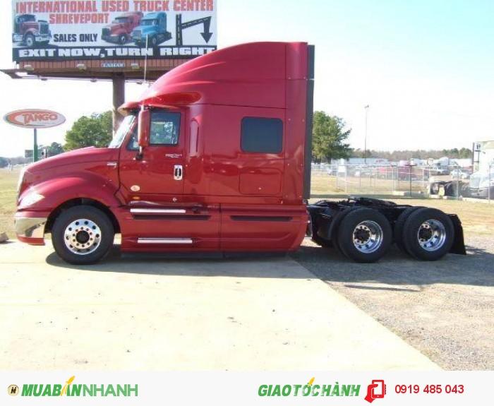 Hỗ trợ mua xe đầu kéo Mỹ trả góp lãi suất ưu đãi, Đầu kéo Mỹ máy Maxx Force 430 mã lực nhập khẩu