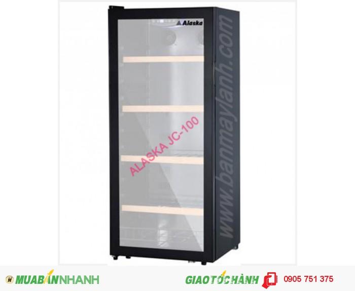 Tủ bảo quản và ướp rượu ALASKA 100 CHAI JC-1000