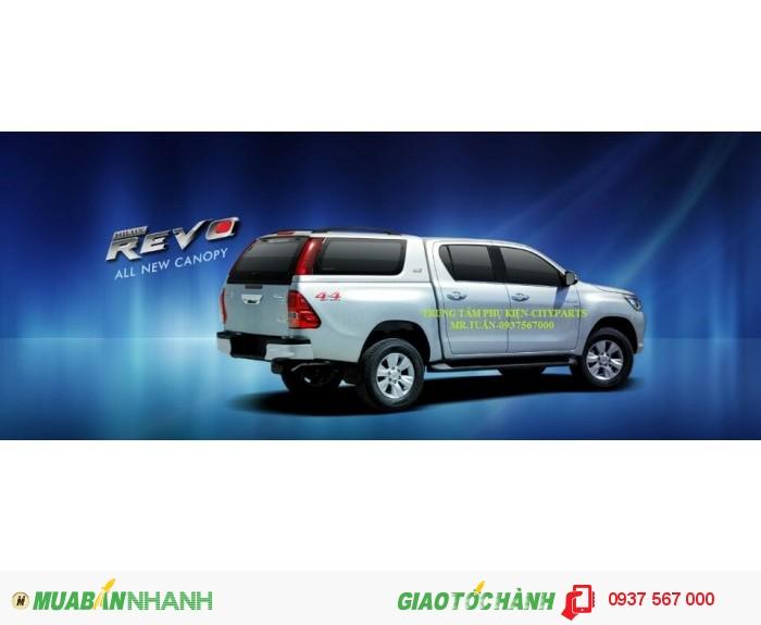 Nắp thùng xe bán tải cho Ranger, Mazda BT50, Hilux Revo, Navara NP300, Triton, D.Max