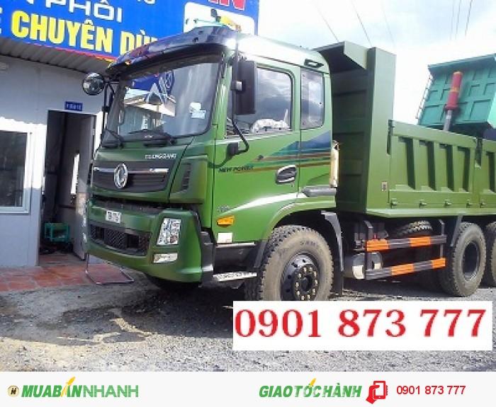 Công ty bán xe ben Dongfeng, Xe tải ben Dongfeng 7.8 tấn 9.2 tấn 14 tấn 2 cầu thật chất lượng tốt
