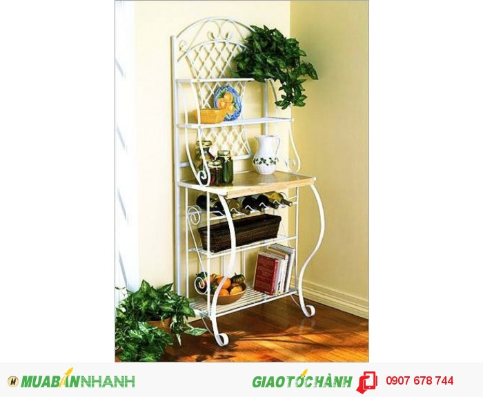 Trong trang trí nội thất, Kệ sắt rèn nghệ thuật là một phụ kiện khá phổ biến và hữu dụng, mà còn làm đẹp cho ngôi nhà của bạn.3