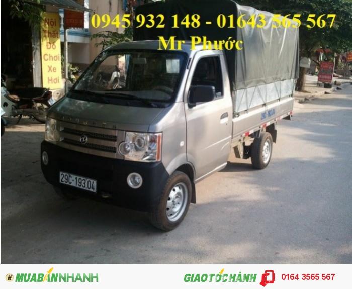 DongBen 870kg Thùng Kín sản xuất năm  Số tay (số sàn) Xe tải động cơ Xăng