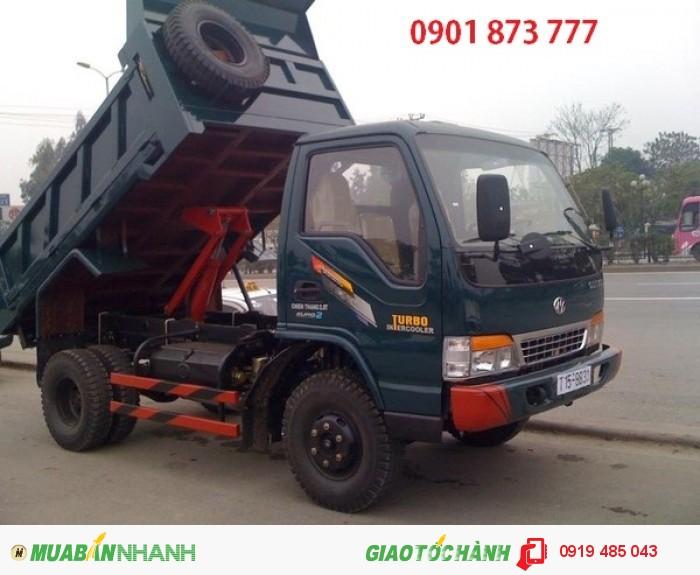Cần bán xe tải ben Chiến Thắng 6 tấn 2 cầu giao ngay