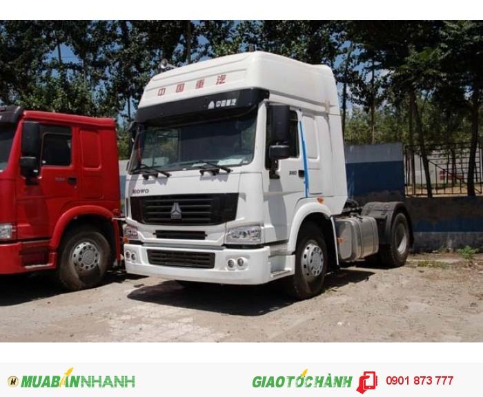 Xe đầu kéo Howo Cabin A7 máy 375Hp, 420Hp Cầu dầu, Cầu láp, Cầu man Đức nhập khẩu có xe giao ngay