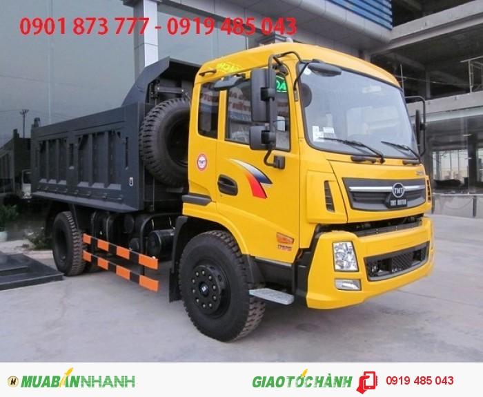 Đại lý xe ben Cửu Long 4T5 5T 2 cầu, Giá bán xe ben Cửu Long 4.5 tấn 5 tấn tốt nhất
