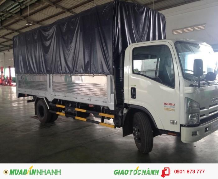 Cần bán xe tải Isuzu 5.5 tấn thùng dài 5.7m 6.2m có xe giao ngay, Xe tải Isuzu 5T5 có sẵn thùng bạt