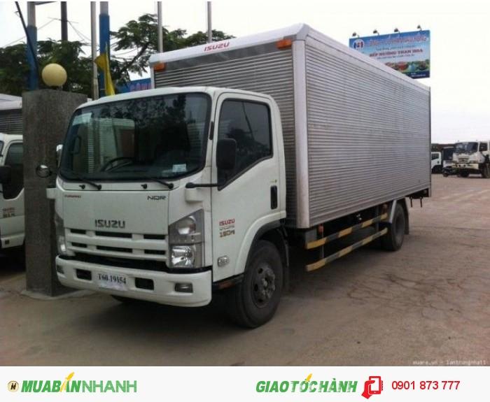 Isuzu NQR sản xuất năm 2015 Số tự động Xe tải động cơ Dầu diesel