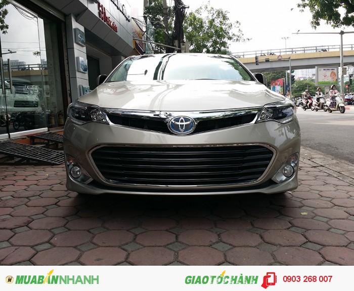 Bán Toyota Avalon 2.5 Hybrid Limited màu vàng cát giao ngay