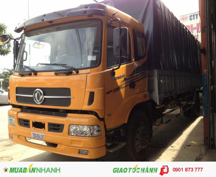 Công ty bán xe tải Dongfeng 6T8 6T9 7T4 8T 14T5 17T9 18T7 19T giá rẻ nhất, Đại lý xe tải Dongfeng 2 chân, 3 chân, 4 chân Trường Giang uy tín