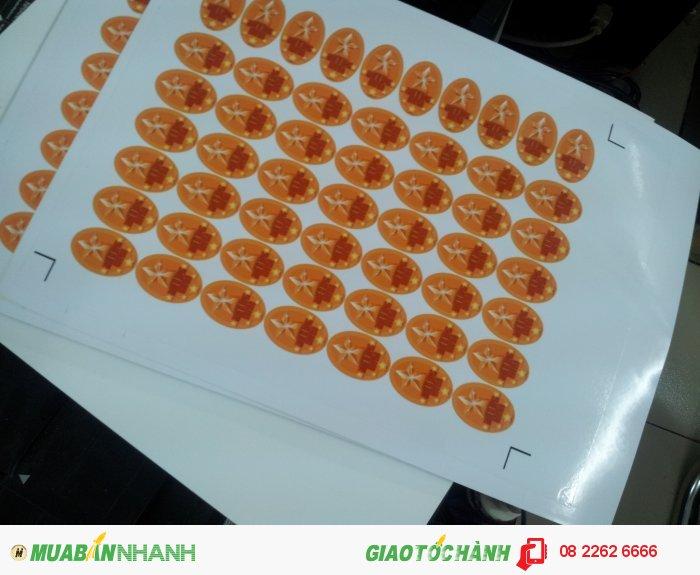 Công ty In Kỹ Thuật Số - Digital Printing cung cấp dịch vụ in tem nhãn số lượng ít, lấy liền trong ngày với máy in phun kỹ thuật số rõ nét