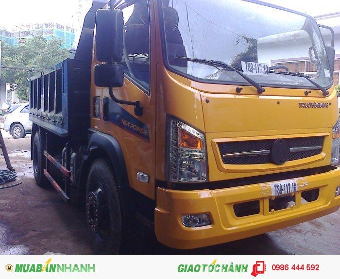 Bán xe tải ben Dongfeng Trường Giang 7 tấn 8/ 7T8/ 7.8T xe 2 cầu 2015